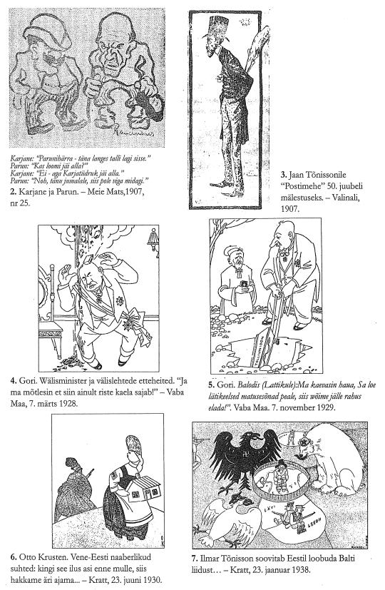 RiTo 1, Karikatuurid 2.-7., Aare Kasemets