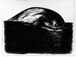 """Silvi Liiva """"Puhkaja"""", 1990, ofort"""