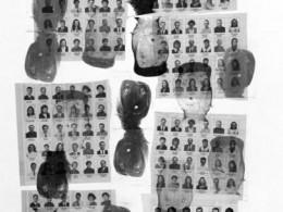 """Lembe Ruben """"Vastukajad"""", 1997, chine colle, polümeergravüür"""