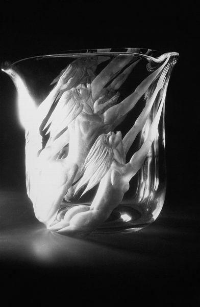 Pilvi Ojamaa - Escaped (1999, copper engraving)