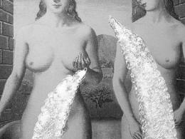 Urve Küttner. Veenuse sünd (2001, hõbe, akenemail, repro kilel)