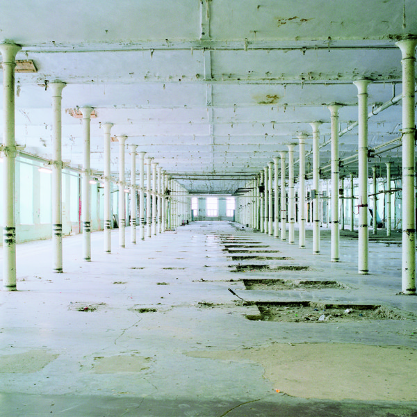 "Marge Monko - Kreenholm #10. Photograph from the series ""Fall of Manufacture"" (2009-2012, pigment photograph, 75x75 cm)"
