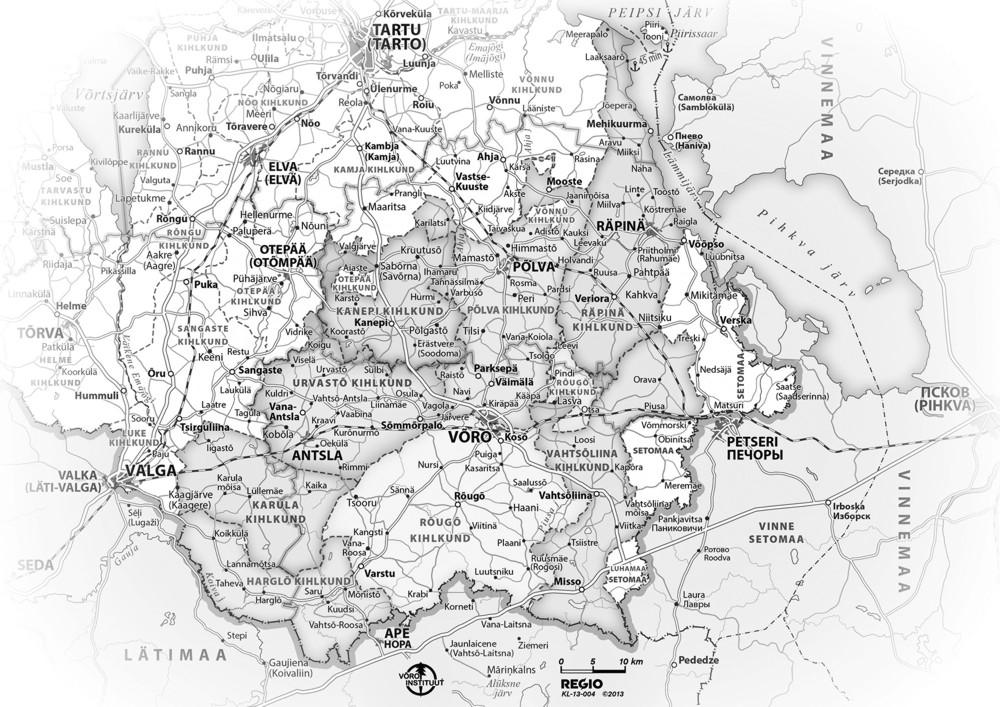 Rito 29. Eichmann, kaart