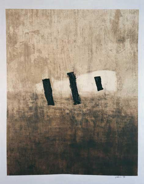 Valeri Vinogradov - Untitled (2000, oil, canvas, 185 x 145 cm)