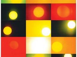 Tarvo Hanno Varres - Päike nr 3 (2002, 80 x 80 cm)