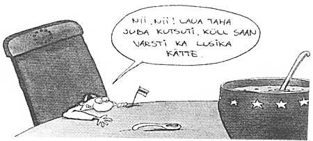Urmas Nemvalts: Väike eestlane. Postimees, 16. aprill 2003