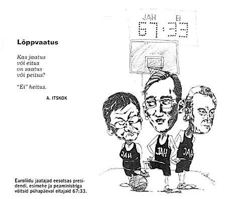 Andres Varustin: Lõppvaatus. Maaleht, 18. september 2003