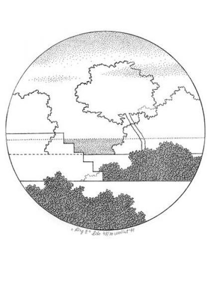 Mare Vint - Ring II, 1991, litograafia