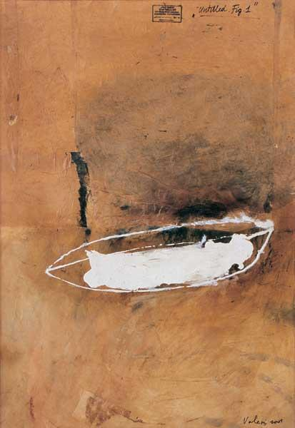 Untitled. Fig. 1 (2001, oil, canvas, 60 x 43 cm)