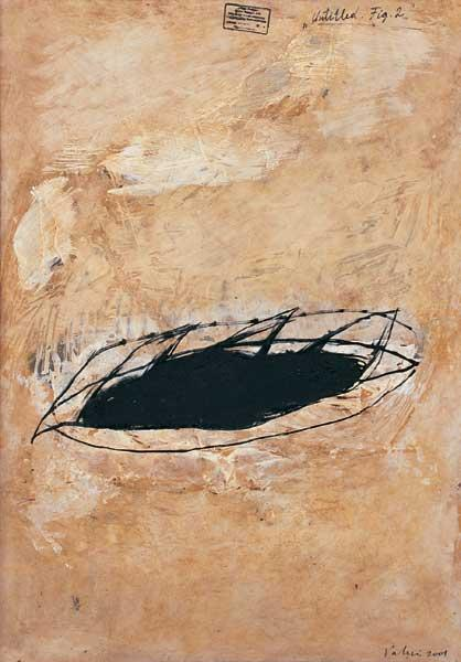 Valeri Vinogradov - Untitled. Fig. 1 (2001, oil, canvas, 60 x 43 cm)