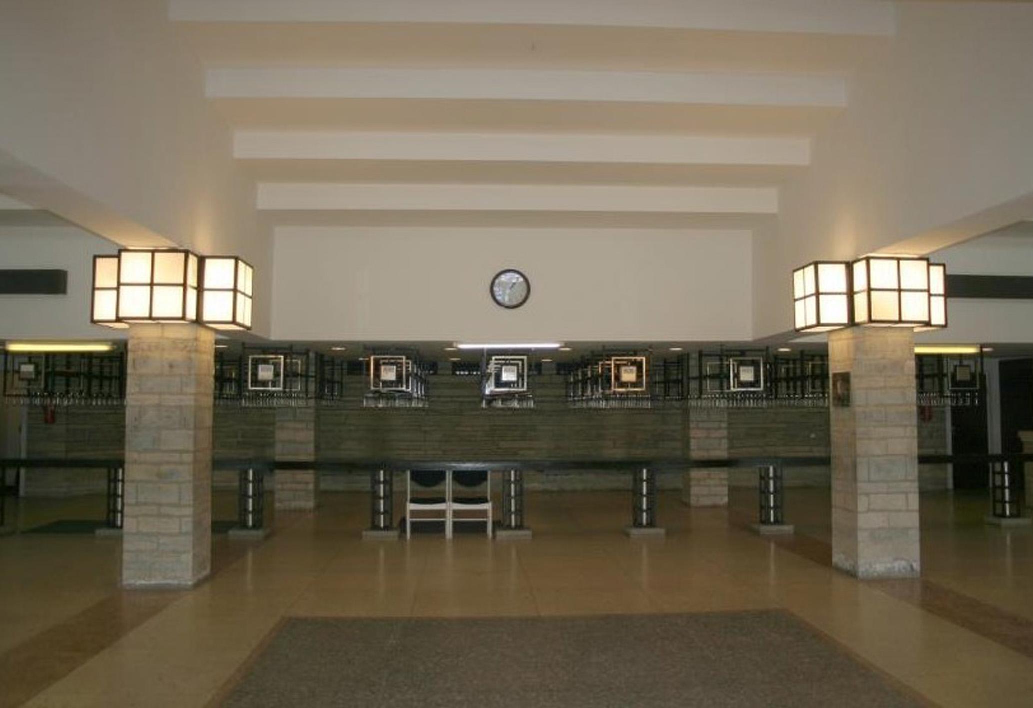 Paide kultuurikeskuse algsel kujul hästi säilinud interjöör. Foto: Muinsuskaitse register