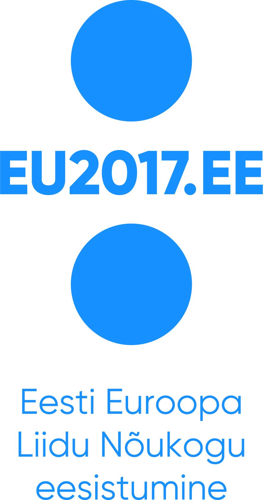 EU2017 logo sümboliseerib tasakaalu tehnoloogilise progressi ja ürglooduse vahel. Foto: Identity OÜ, Riigikantselei