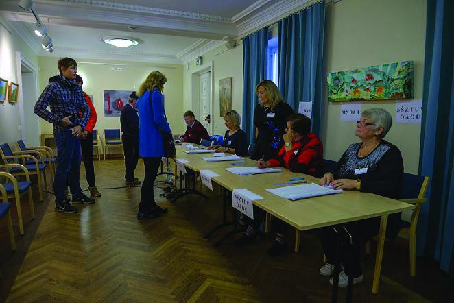 Kohalikud valimised Viljandis. Foto: Ken Soo