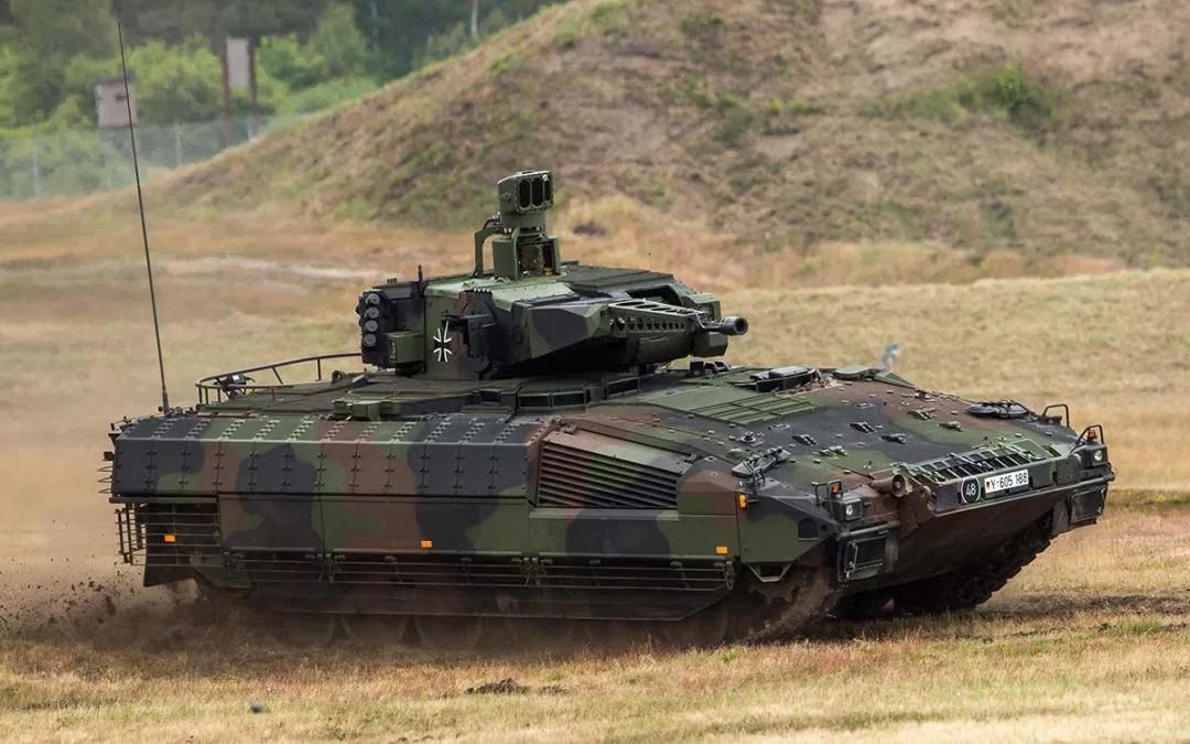 Kõige moodsam jalaväe lahingumasin Puma. Foto: http://fighting-vehicles.com/puma-ifv-spz/