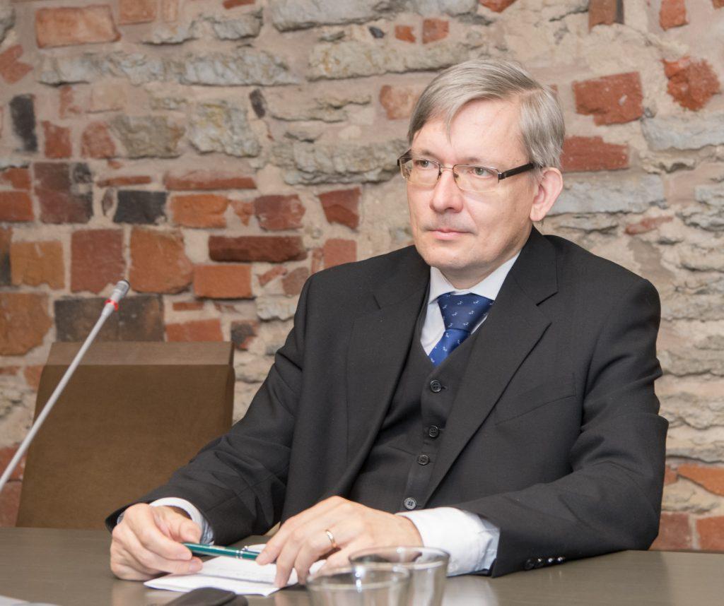 Mart Raudsaar (Riigikogu Toimetiste peatoimetaja). Foto: Erik Peinar