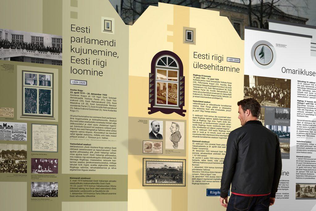 """Näitus """"Eesti parlament 100"""" on ajastuhõnguline"""