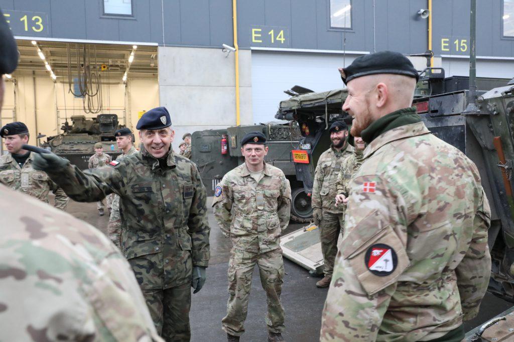NATO kirdekorpuse ülema kindralleitnant Wojciechowski visiit Eestisse 8.–9. oktoobril 2018
