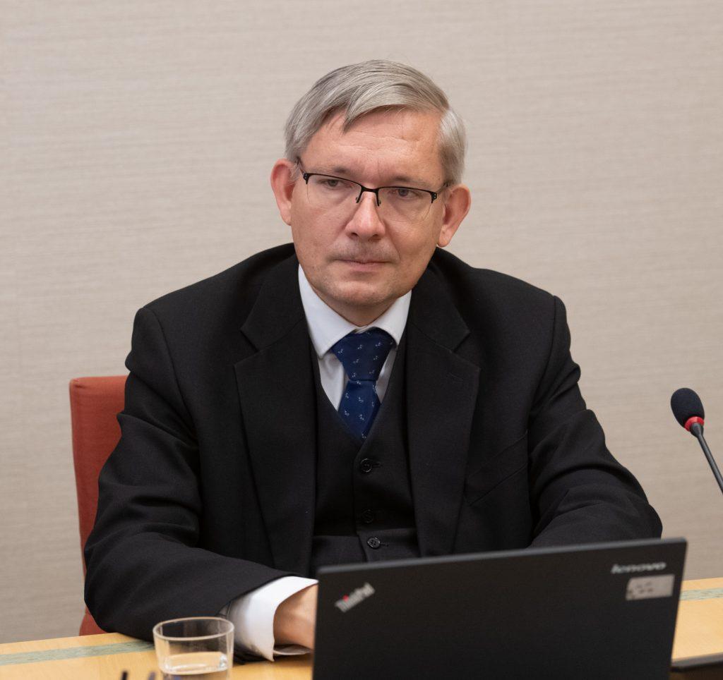 Mart Raudsaar (Riigikogu Toimetiste peatoimetaja).Foto: Erik Peinar